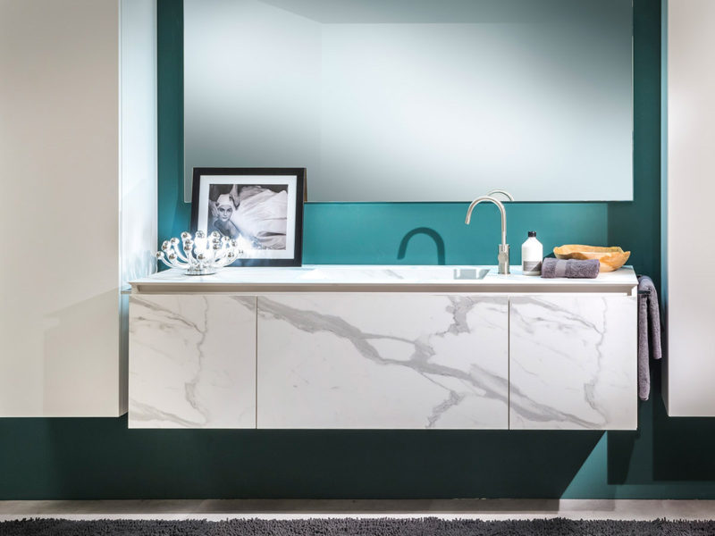 bagno bianco marmo